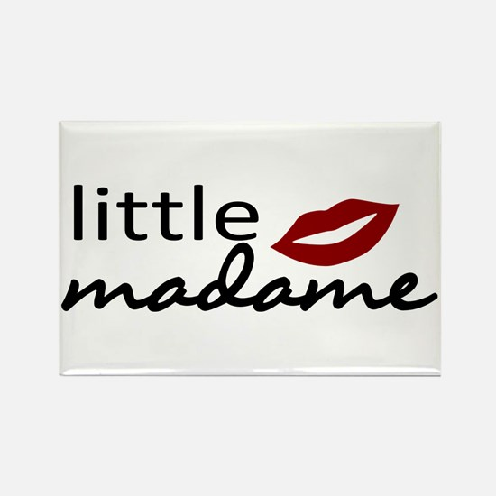 Cute Little Madame Rectangle Magnet