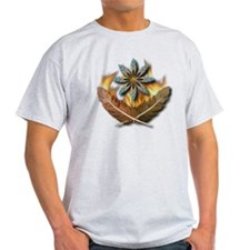 native red tailed hawk feathers and  T-Shirt