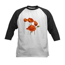 Poppies (orange) Tee