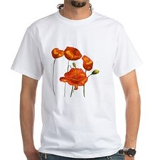 Poppies (orange) Shirt