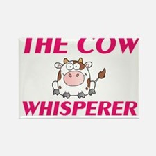 The Cow Whisperer Magnets