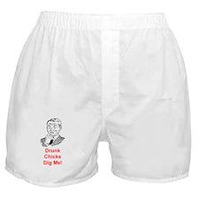 DRUNK CHICKS DIG ME Boxer Shorts