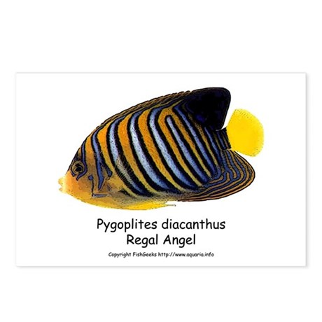 Regal Angel Postcards (Package of 8)
