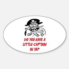 GOT A LITTLE CAPTAIN IN YA? Decal