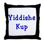 Yiddishe Kup Throw Pillow