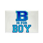 B is for Boy Rectangle Magnet (100 pack)