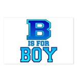 B is for Boy Postcards (Package of 8)