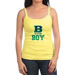 B is for Boy Jr. Spaghetti Tank