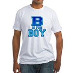B is for Boy Fitted T-Shirt
