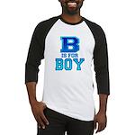 B is for Boy Baseball Jersey