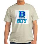 B is for Boy Ash Grey T-Shirt