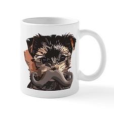 York Pup Mustache Mug