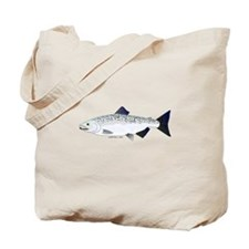 Chinook King Salmon f Tote Bag