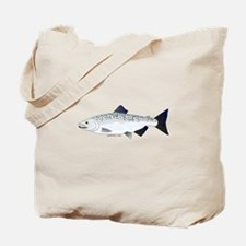 Chinook King Salmon f Tote Bag