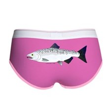 Chinook King Salmon Sea c Women's Boy Brief