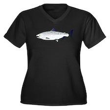 Chinook King Salmon Sea c Plus Size T-Shirt