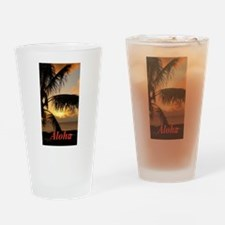 Sunset North Shore Drinking Glass