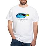 Blue Tang White T-Shirt