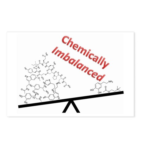 Chemically Imbalanced Postcards (Package of 8)