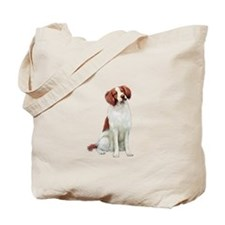 Brittany Spaniel #1 Tote Bag