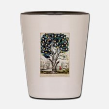 The tree of intemperance - 1849 Shot Glass