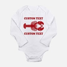 CUSTOM TEXT Lobster Body Suit