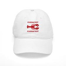 CUSTOM TEXT Lobster Baseball Baseball Cap
