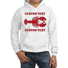 CUSTOM TEXT Lobster Hoodie