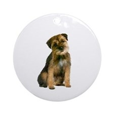 Border Terrier #1 Ornament (Round)