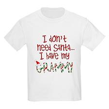 Don't need Santa, Have my Grammy Kids T-Shirt