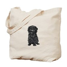 Affenpinscher (blk) Tote Bag
