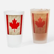 Funny Leafs nation Drinking Glass