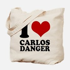 I heart Carlos Danger Tote Bag