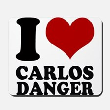 I heart Carlos Danger Mousepad