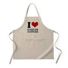 I heart Carlos Danger Apron
