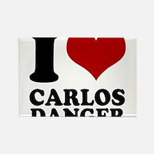 I heart Carlos Danger Rectangle Magnet