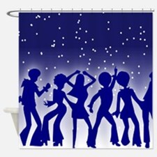 DISCO DANCERS Shower Curtain