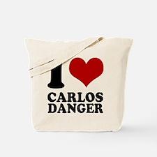 I heart Carlos Danger Tote Bag