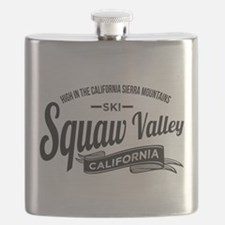 Squaw Valley Vintage Flask