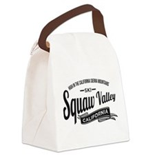 Squaw Valley Vintage Canvas Lunch Bag