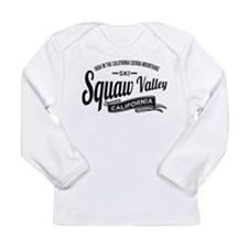 Squaw Valley Vintage Long Sleeve Infant T-Shirt
