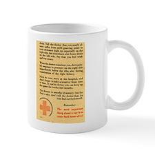 Tough Going Soldier? Laxative Mug