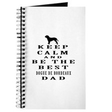 Keep Calm Dogue de Bordeaux Designs Journal