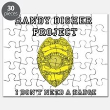 Randy Disher Project: I dont need a badge Puzzle