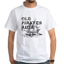 Old Pirates Rule T-Shirt