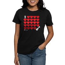 I Love Love Uke T-Shirt