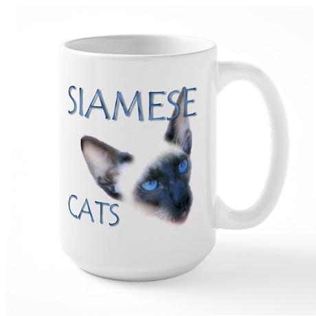 Large Mug - Siamese Cats