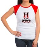 H is for Horror Women's Cap Sleeve T-Shirt