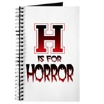 H is for Horror Journal