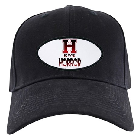H is for Horror Black Cap